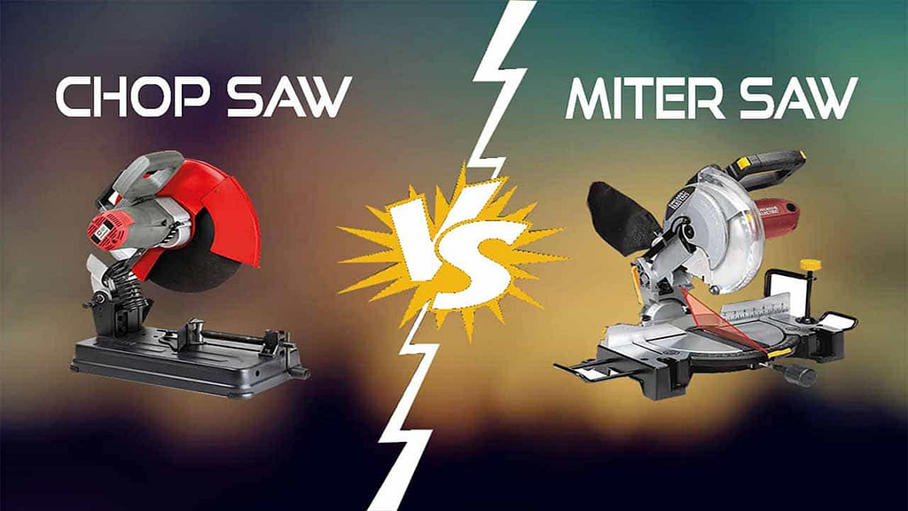 Core Difference Between Chop Saw and Miter Saw