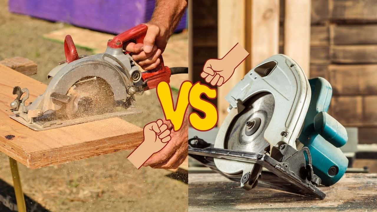 worm drive circular saw vs regular