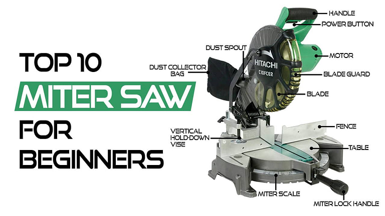 Top 10 Best Miter Saw For Beginners in 2021 – Tested