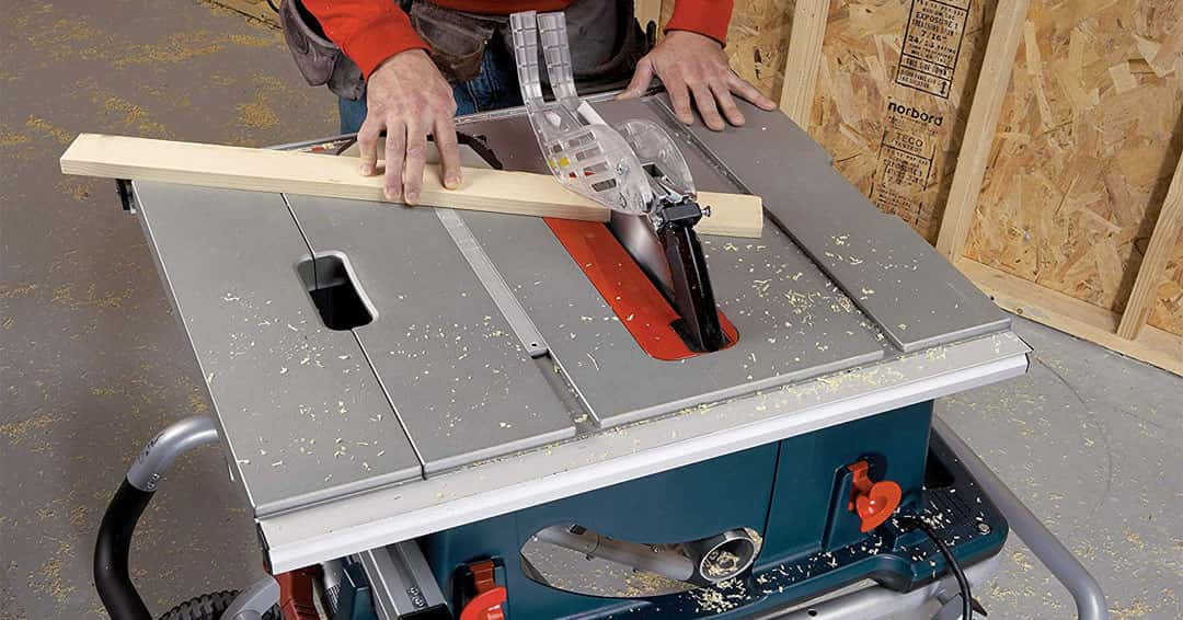 Feature image of best hybrid table saw